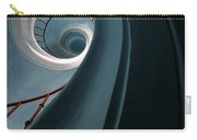 Pretty Blue Spiral Staircase Carry-all Pouch