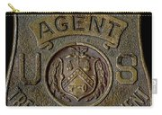 Prohibition Agent Badge Carry-all Pouch