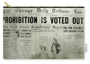 Prohibition Voted Out Carry-all Pouch
