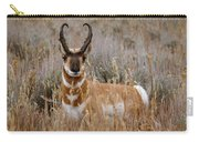 Pronghorn In The Sage Carry-all Pouch