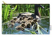 Proud Mother Duck Carry-all Pouch