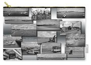 Provincetown Cape Cod Massachusetts Collage Bw 02 Carry-all Pouch