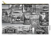 Provincetown Cape Cod Massachusetts Collage Pa Bw Carry-all Pouch