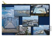 Provincetown Marina Cape Cod Massachusetts Collage Carry-all Pouch