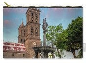Puebla Zocalo And Cathedral Carry-all Pouch