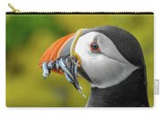 Puffin With A Mouthful Carry-all Pouch