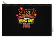 Pug Dog Party Carry-all Pouch