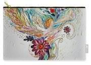 Pure Abstract #4. Trumpeting Angel Carry-all Pouch