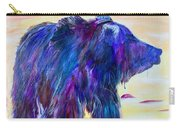 Purple Bear Carry-all Pouch
