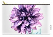 Purple Blend Petals Two Carry-all Pouch