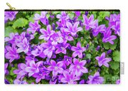 Purple Campanula Carry-all Pouch