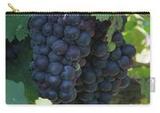 Purple Grape Bunches 13 Carry-all Pouch