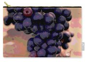 Purple Grape Bunches 18 Carry-all Pouch