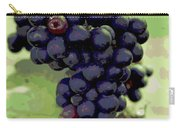 Purple Grape Bunches 19 Carry-all Pouch
