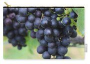Purple Grape Bunches 20 Carry-all Pouch