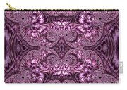 Purple Lilac Gardens And Reflecting Pools Fractal Abstract Carry-all Pouch by Rose Santuci-Sofranko