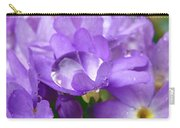 Purple Pearl Carry-all Pouch