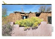 Rabbitbrush And Adobe Ruins Carry-all Pouch
