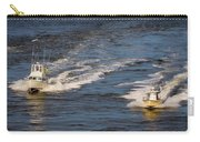 Racing To The Harbor Carry-all Pouch