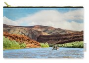 Rafting On The San Juan River Carry-all Pouch