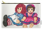 Raggedy Ann And Friend  Carry-all Pouch