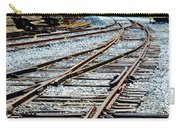 Railroad Siding Tracks Carry-all Pouch