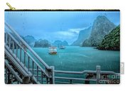 Rain Aboard Au Co Cruise Ha Long Bay  Carry-all Pouch
