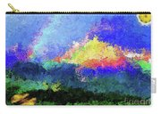 Rainbow Mountain - Breaking The Gridlock Of Hate Number 5 Carry-all Pouch