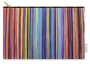 Rainbow Stripes Purple Gold 201912 Carry-all Pouch
