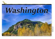 Randle Washington In Fall Carry-all Pouch