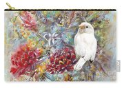 Rare White Sparrow - Landscape Carry-all Pouch by Ryn Shell