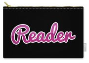Reader #reader Carry-all Pouch
