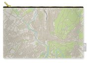 Reading Pennsylvania Us City Street Map Carry-all Pouch