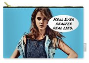 Real Eyes Carry-all Pouch