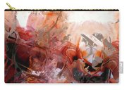 Red Abstract Art - The Vineyard - Sharon Cummings  Carry-all Pouch