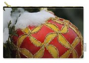 Red And Gold Ornament Carry-all Pouch