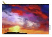 Red Clouds Carry-all Pouch