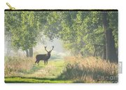 Red Deer In The Forest Carry-all Pouch