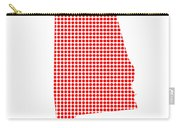 Red Dot Map Of Alabama Carry-all Pouch