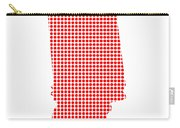 Red Dot Map Of Indiana Carry-all Pouch