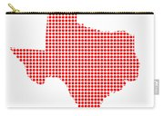 Red Dot Map Of Texas Carry-all Pouch