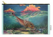 Red Fish Hunt Carry-all Pouch