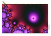 Red Glowing Bliss Abstract Carry-all Pouch by Don Northup