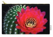 Red Hot Torch Cactus  Carry-all Pouch