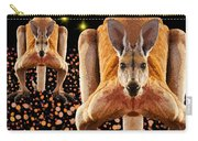 Red Kangaroos Carry-all Pouch