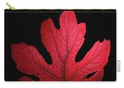 Red Leaf Art Carry-all Pouch