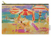 Red Parasols, Miami Carry-all Pouch