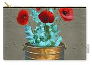 Red Patio Poppies Carry-all Pouch