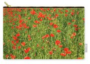 Red Poppies Meadow Carry-all Pouch