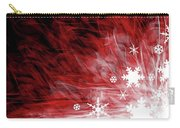 Red Snowflake Carry-all Pouch